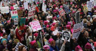 Manifestations contre Donald Trump