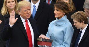 Donald Trump prête serment